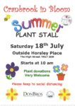 Cranbrook in Bloom Plant Sale