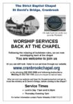 The Strict Baptist Chapel Worship Services