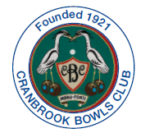This year Cranbrook Bowls Club will be celebrating 100 years of bowling in Cranbrook.